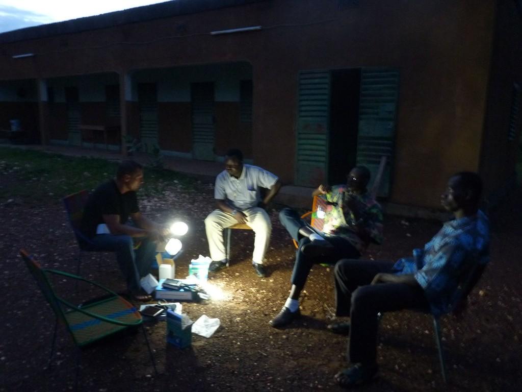 Que la lumière soit ... au presbytère de FAFO
