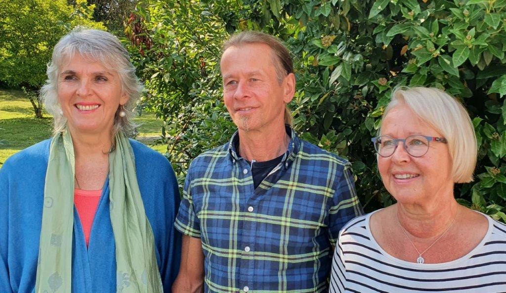 vnlr. Dörte Wenzel, Dr. Ulrike Fischer, Stefan Fischer, Erika Haese