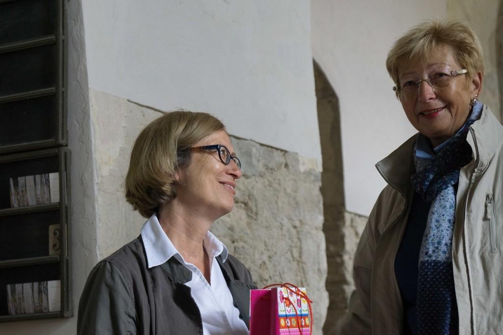 Dank und Gratilation an Frau Persch (60. Geburtstag)
