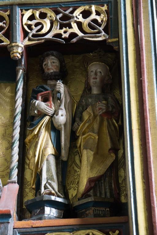 Figurengruppe vom Schnitzaltar
