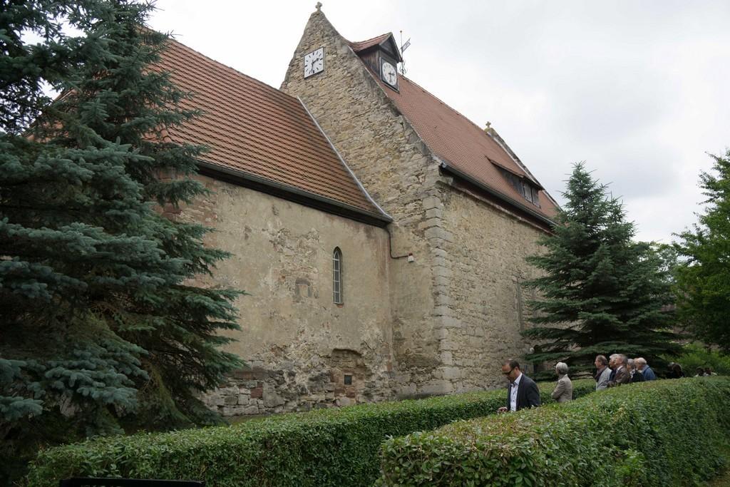 1. Station: Kirche Großlöbichau