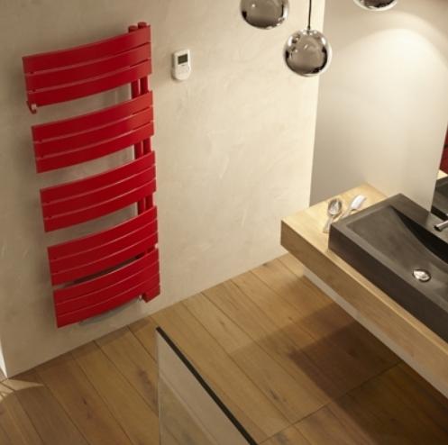 Sèche-serviettes Atlantic Nefertiti rouge