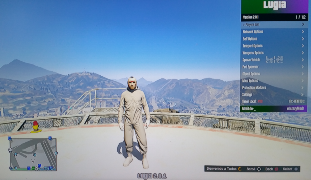 MOD MENU GTA V PS3 CEX / DEX - Site de mattybmusic !