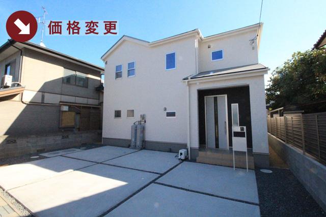 岡山県岡山市南区妹尾の新築一戸建て分譲住宅の外観 物件詳細ページにリンク