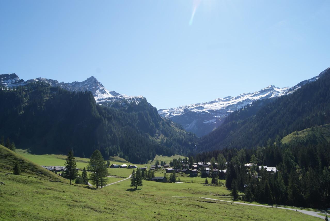 Gamperdona Dorf