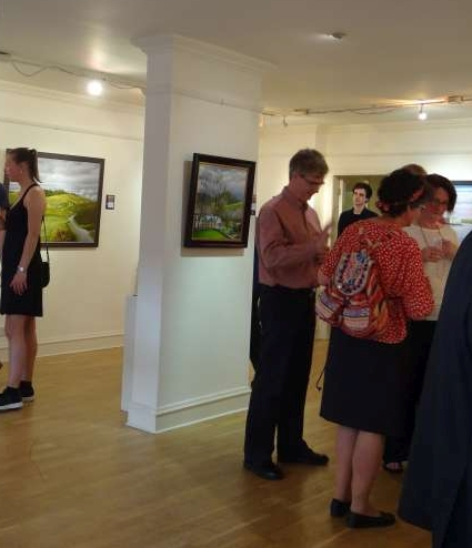 Vernissage, Paul M. Ellis, The Dudas Street Gallery, Edinburgh