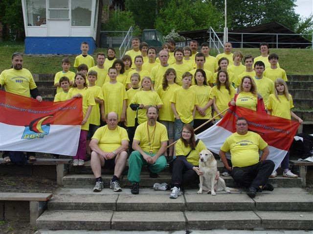 Als Abgschluss des offiziellen Tages, gab es dann noch einmal ein Gruppenfoto mit allen Teilnehmern