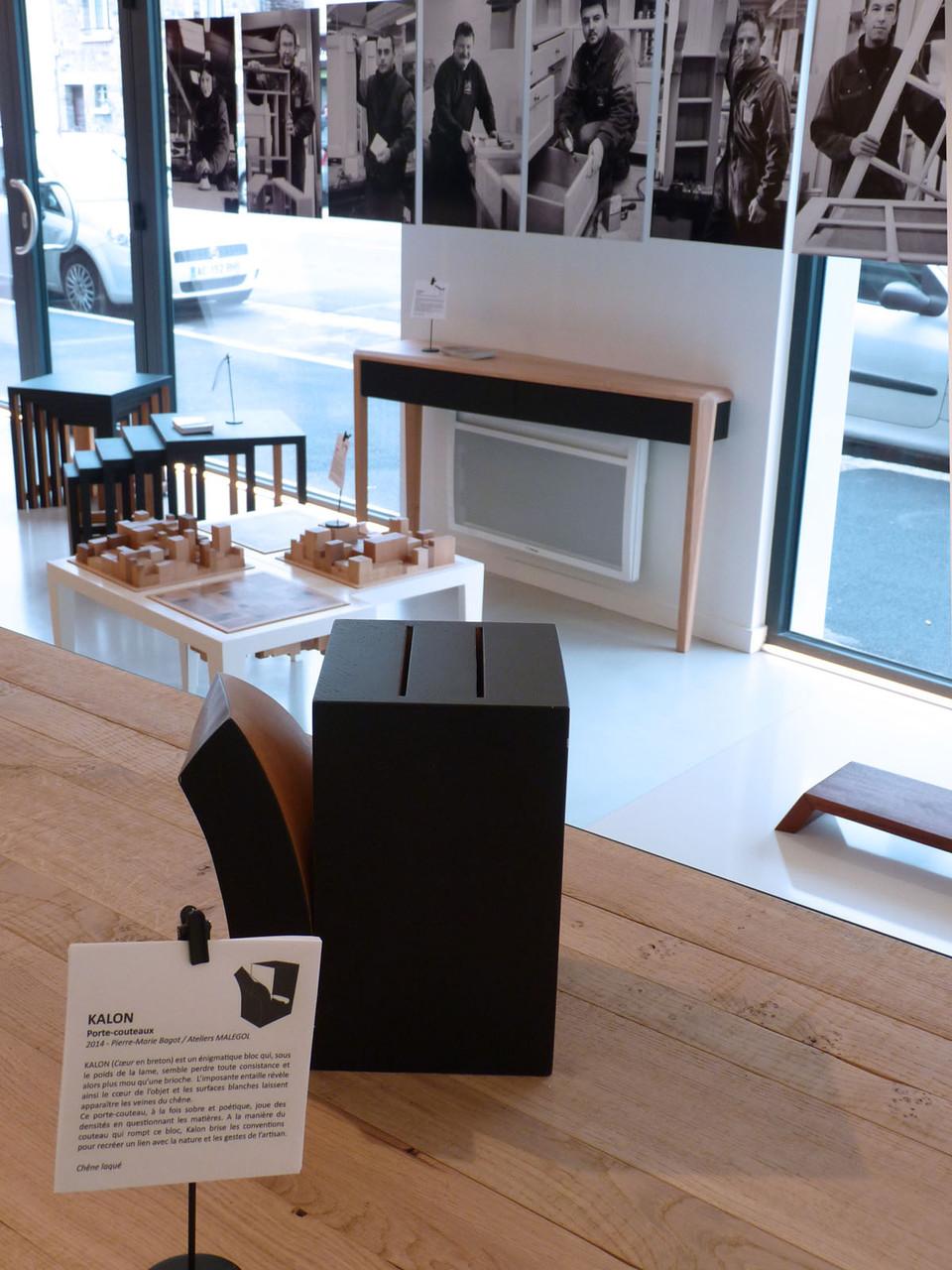 Espace Meubles & Design - Porte-couteaux KALON (Design Ateliers Malegol - Pierre-Marie BAGOT)