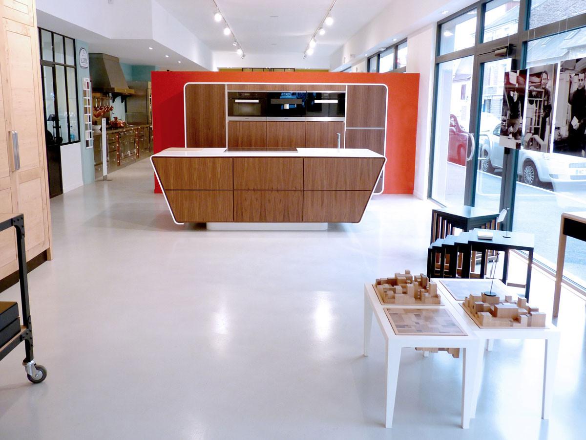 Espace MIELE  (Design Ateliers Malegol - Mathieu Le Guern)