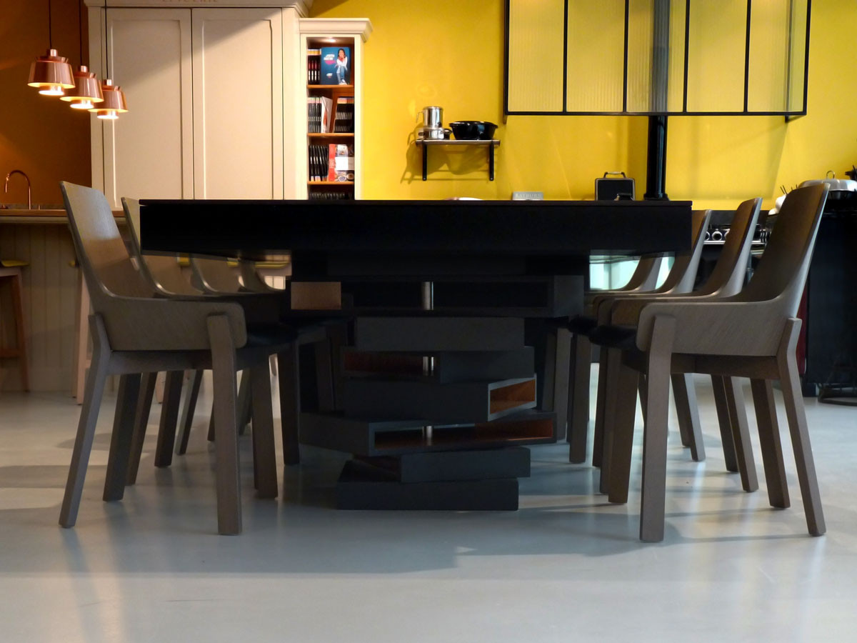 Table de réception (Design Ateliers Malegol - Mathieu Le Guern)