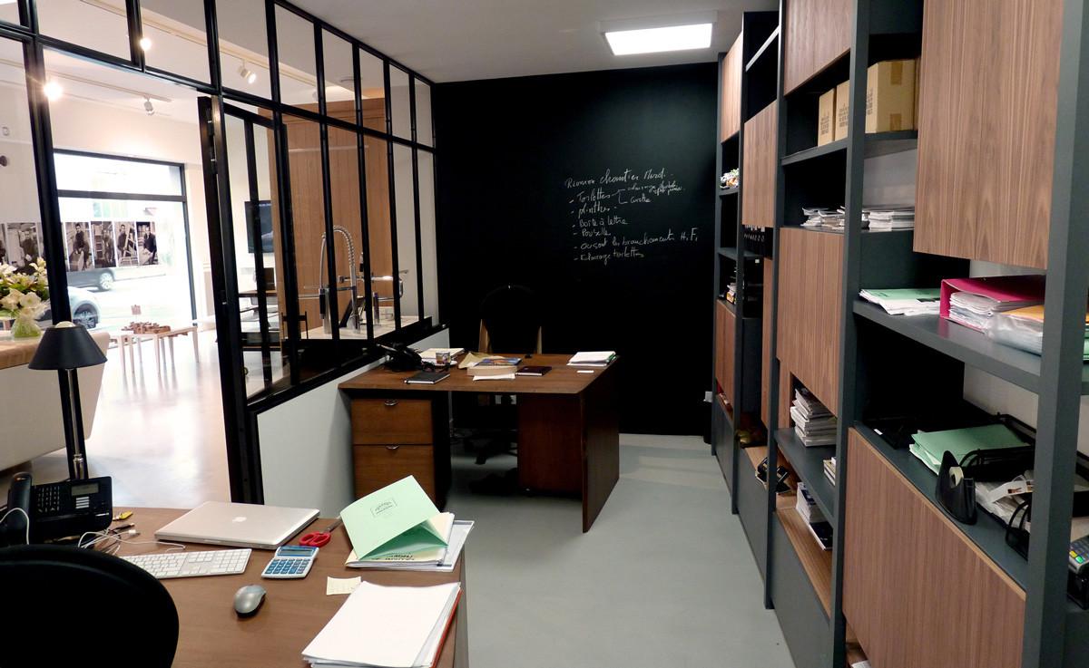 Mobilier de rangement / Bureaux (Design Ateliers Malegol - Mathieu Le Guern)