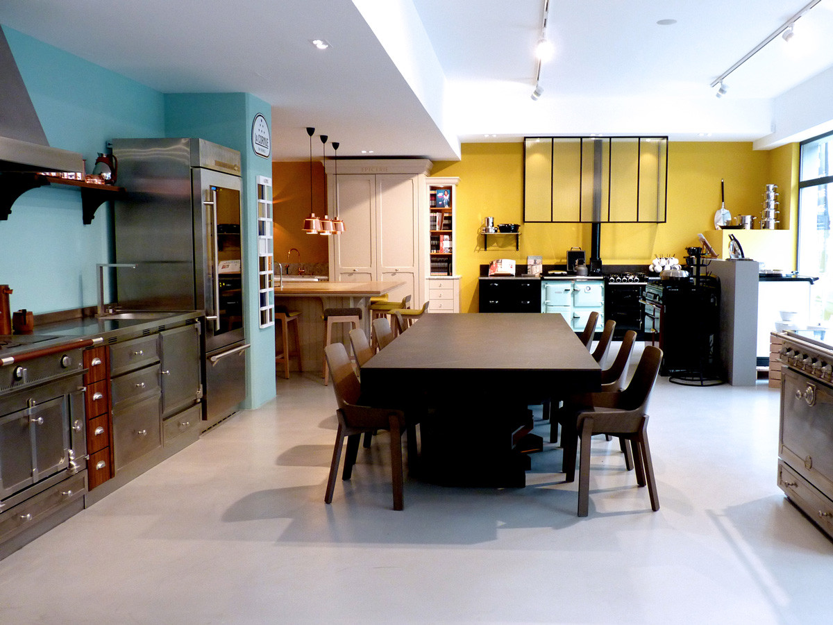 Ambiance du showroom  (Design Ateliers Malegol - Mathieu Le Guern)