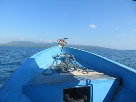 Auf dem Weg nach Pulau Menjangan