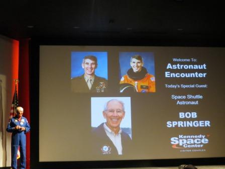 Vortrag des Astronauten Bob Springer