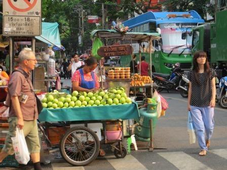 Markt auf der Silomroad