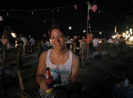 Abends am Klong Prao Beach