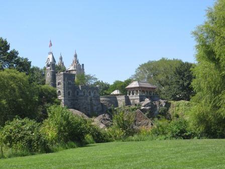 Central Park - Schloss Belvedere