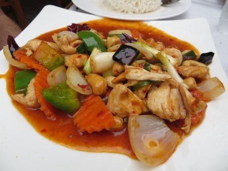 Lieblingsessen - stir fried chicken with cashewnuts