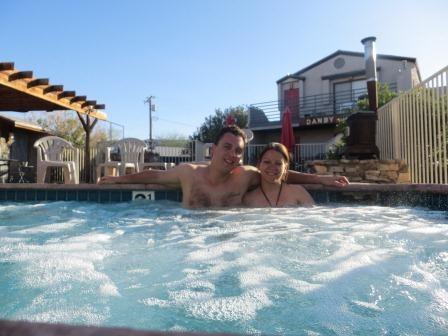 Whirlpool im Sunnyvale Garden Suites