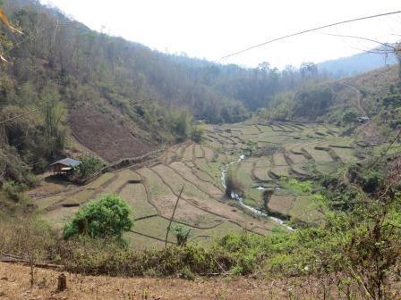 Unterwegs in den Bergen bei Chiang Mai
