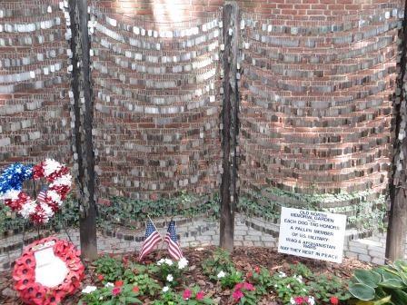 Boston Freedom Trail - Dog Tag Memorial der Afghanistan & Irak Kriege