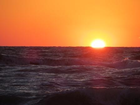 traumhafter Sonnenuntergang