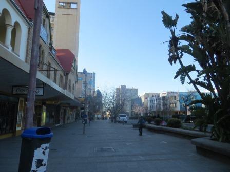 Impressionen aus Windhoek - leere Straßen