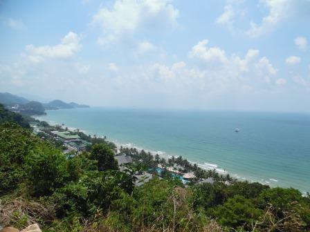 Klong Prao Beach von oben