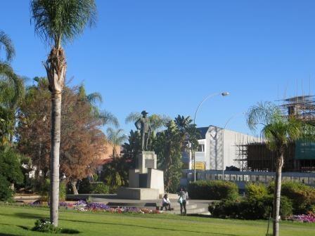 Impressionen aus Windhoek - Curt von Francoise Denkmal