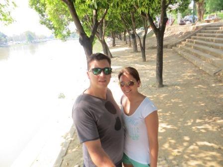 Am Ufer des Ping-River