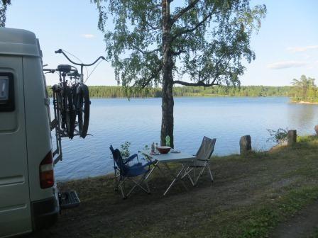 Unser Plätzchen am See