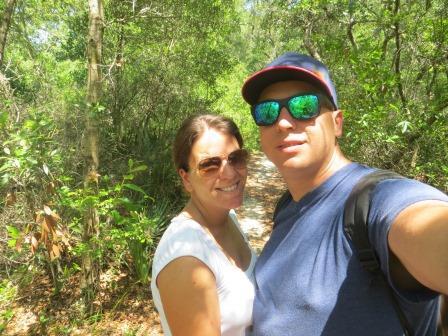 Wanderung auf dem Nature-Trail