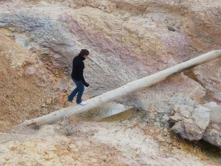 Auf dem Mossy Cave Trail im Bryce Canyon