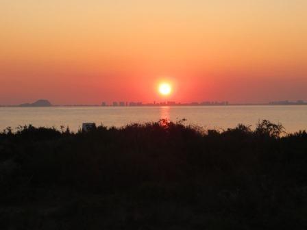 Wieder ein schöner Sonnenaufgang