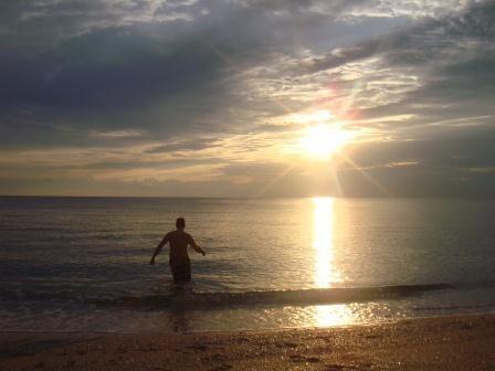 Sonnenaufgang in Fort Lauderdale