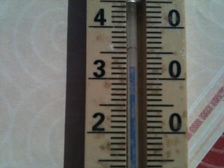 33 Grad im April :)