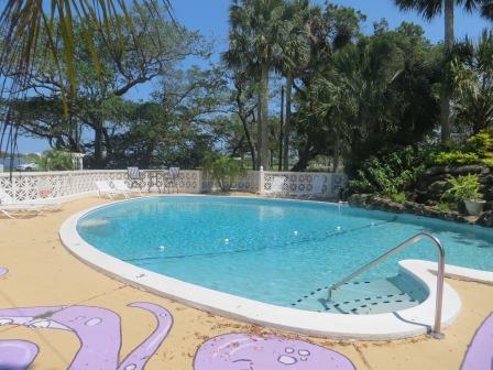 Pool im B&B River Lily