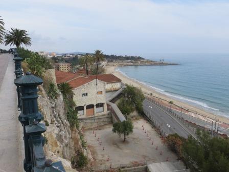 Blick vom Mittelmeerbalkon