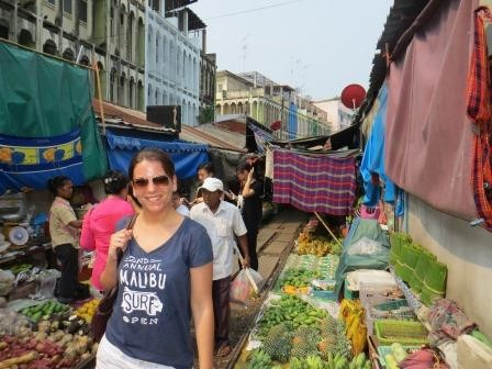 Mae Klong Railway-Market