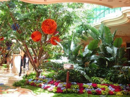 In der Lobby des Wynn