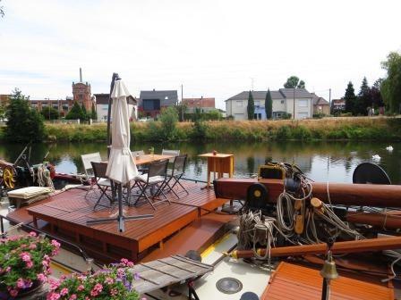 Womo-Stellplatz am Hafen in Colmar