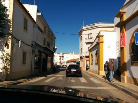 In den Straßen von Albufeira