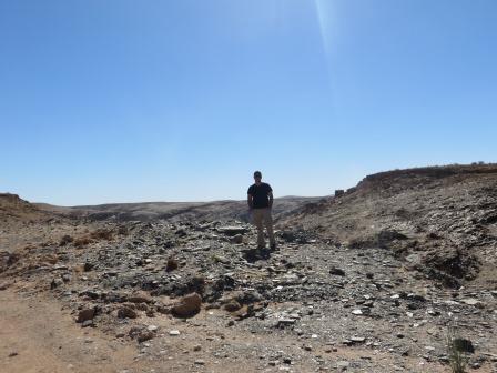 Auf der Fahrt durch den Kuiseb-Canyon