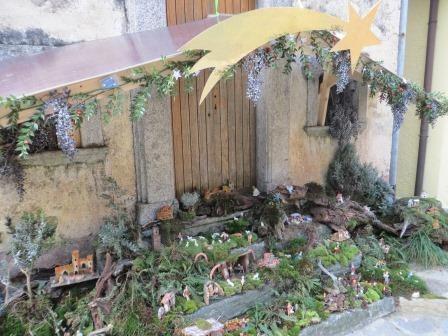 Krippe in Orascio