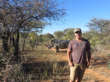 Auf dem Rhino-Drive