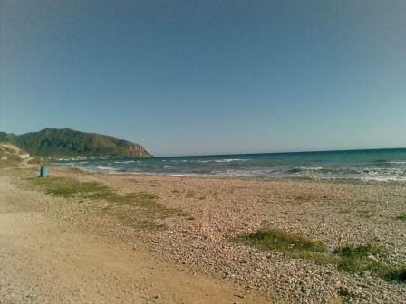 Strand von Isla Plana