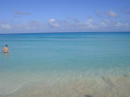Jan im karibischen Meer