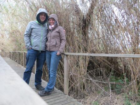 Wir trotzen dem Regen ;)