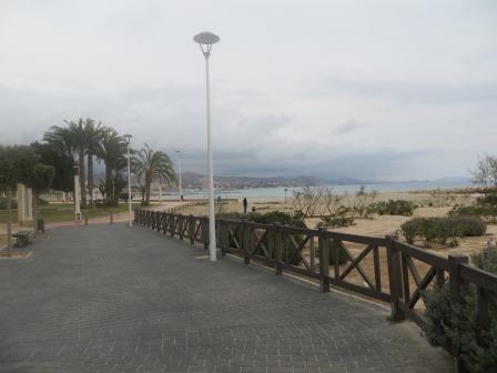 Uferpromenade in El Campello