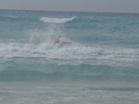 Jan´s Kampf mit dem stürmischen Meer :)
